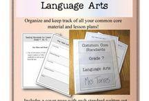 Common Core 7th grade ELA / Cool organizer / by Barb Cockroft