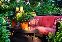 Outdoor Rooms and Spaces