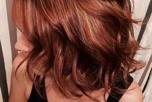 Idées de coiffure.  Coupe, couleur...