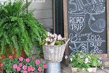 porch ideas / by Kelly Mosser