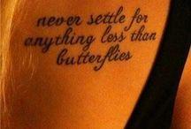 tattoos / by Amber Elizabeth