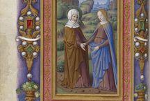 Enluminures, Manuscrits