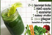 Just Juice / A collection of juicing recipes made up mostly of vegetable juices and green juices.