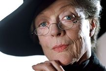 Maggie Smith(Minerva McGonagall)