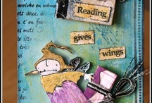 My Tags, ATCs, bookmarks, inchies, skinnies, .. / You will find here all my little mixed-media projects onto small or even tiny supports! :)