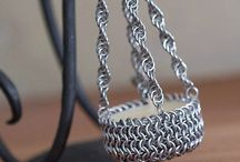 Chainmaille accessories and other small joys / Original handmade by www.DreamHandmadee.etsy.com