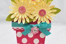 Flower po cards