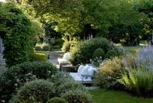 gardens and outdoor spaces / by Sally May Mills