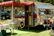 Trailer Trash and Shack Livin' / I could easily live in a tiny space...a cool retro Airstream could allow me to hit the open road. A shack would be ideal for a weekend getaway. / by Susan Marquez