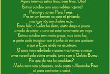 Brasil (Situação do país) / Charges, frases, quadros e textos sobre a situação do Basil.