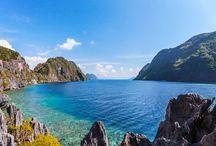 Philippines / Les rizières en terrasse des Ifugao, au Nord de l'île, de Luçon, à Banaue, les plages idylliques d'El Nido et l'archipel de Bacuit