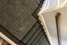 Stair Runners with Nail Heads