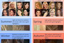Colour value hair