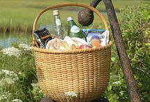 picnic, basket and. ..