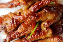 Asian chicken feet