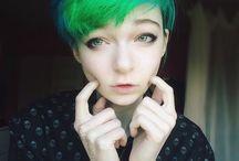 Hair style (colour and cut)