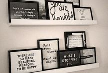 wall of quotes