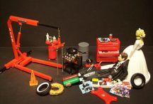Mechanic engine tools