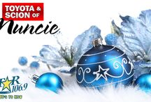 The Christmas Channel / Streaming your holiday favorites 24/7, for free, courtesy of Toyota of Muncie!