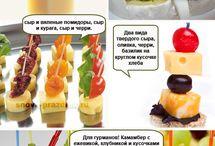Рецепты: закуски