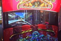 Arcade / Blackbeard's has an arcade game for every age and interest. Wether you like air hockey, skee-ball or making a deal, shooting hoops, cyborgs or pirates everyone will find a game to fill the dull hours of a voyage.