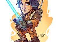 rebeldes: star wars-rebels etc...