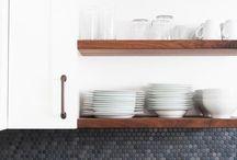 Ihanat avohyllyt / Open shelves