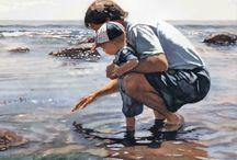 ART: STEVE HANKS WATERCOLOR
