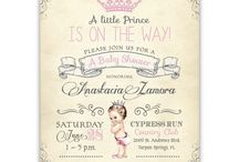 Baby Shower Invitations / by Ian & Lola Invitations and Printables