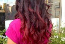 capelli shatush rosso