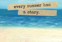 Tyd vir Somer! / Somer het uiteindelik aangebreek, tyd vir sonskyn, geluk, roomys en langs die swembad lê.