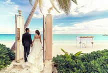 Mexico wedding and honeymoon / Destination wedding. Mexico, Cancun, Tulum, Cabo San Lucas, Playa Del Carmen. Organization, photoshoots and beautiful details captured by TropicPic