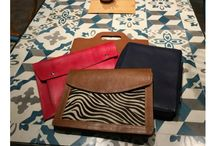 Leather laptop bag and leather laptop case by Self-Made Bags