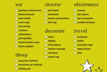 organization tips / by Betsy Hoffman