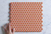 TileClouds Orange Tiles