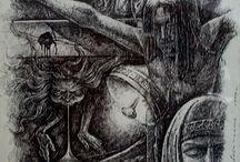 Sepie i ilustracje / Kilka moich rysunków