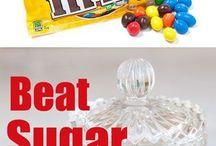 Beat sugar