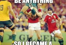 RUGBY IS BOZZ / Awsome I am awsome ohh yeah!!!