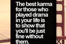 good/bad karma