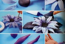 marcipánové kytky,stromy