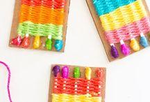 DIY Barn väva / Kids weaving