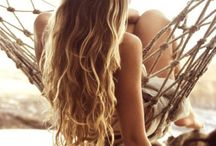 Beachy Hairstyles / Get those perfect beach waves, in the sand or away from it.