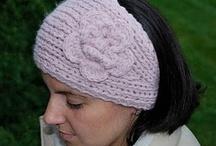 Crochet headbands and Crochet earwarmers / Crochet headbands and Crochet earwarmers