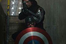 Marvel Steve & Bucky