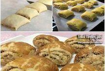 cevizli  rulo kurabiye