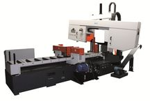 Power band saw machines / Heavy duty, double clumn, fully automatic band saw machines