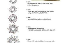 BEADED BEADS TUTORIALS / Bead weaving