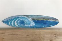 home made beach-art the hegue Netherlands