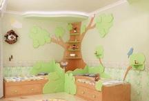 Leah's Room- Tree Shelf Ideas
