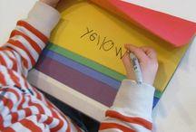Classroom color words / by Gigi Houser